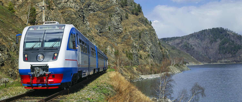 <p>Transsibirische<br /> Eisenbahn</p>
